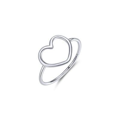 Inel din argint Big Simple Heart