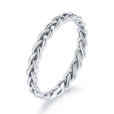 Inel din argint Chain Band