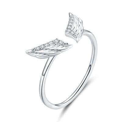 Inel din argint Flying Wings