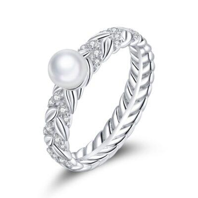 Inel din argint Symbolic Pearl