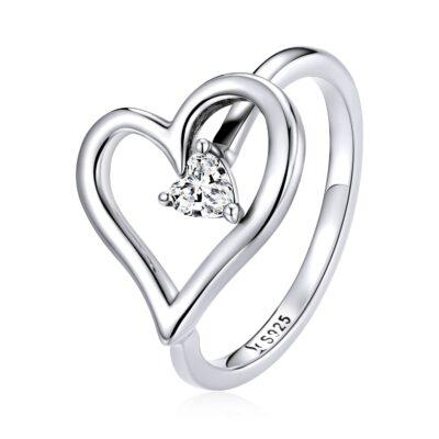 Inel din argint True Love