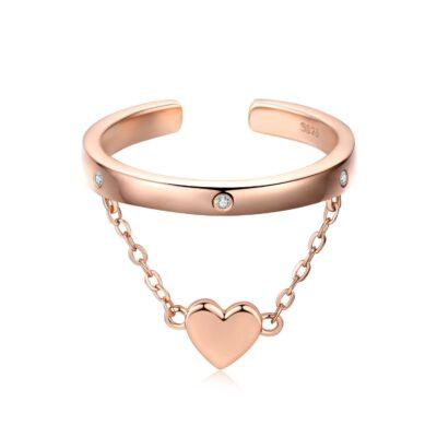 Inel din argint Amazing Heart Ring