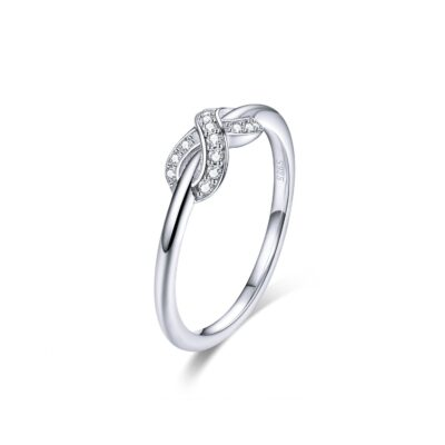 Inel din argint Crystal Infinite