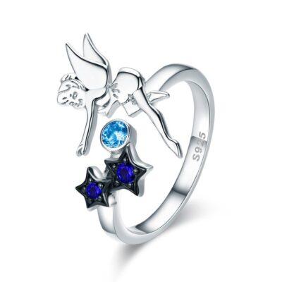 Inel din argint Dancing Fairy