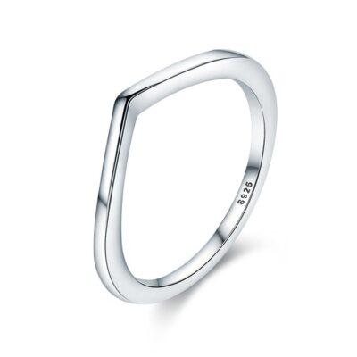 Inel din argint Perfect Gift Classic