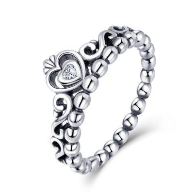 Inel din argint Vintage Crown Ring