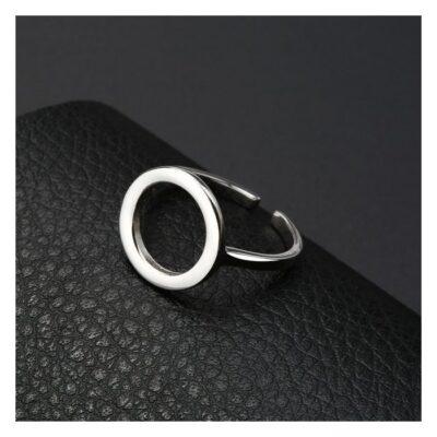 Inel reglabil din argint cu Cerculet